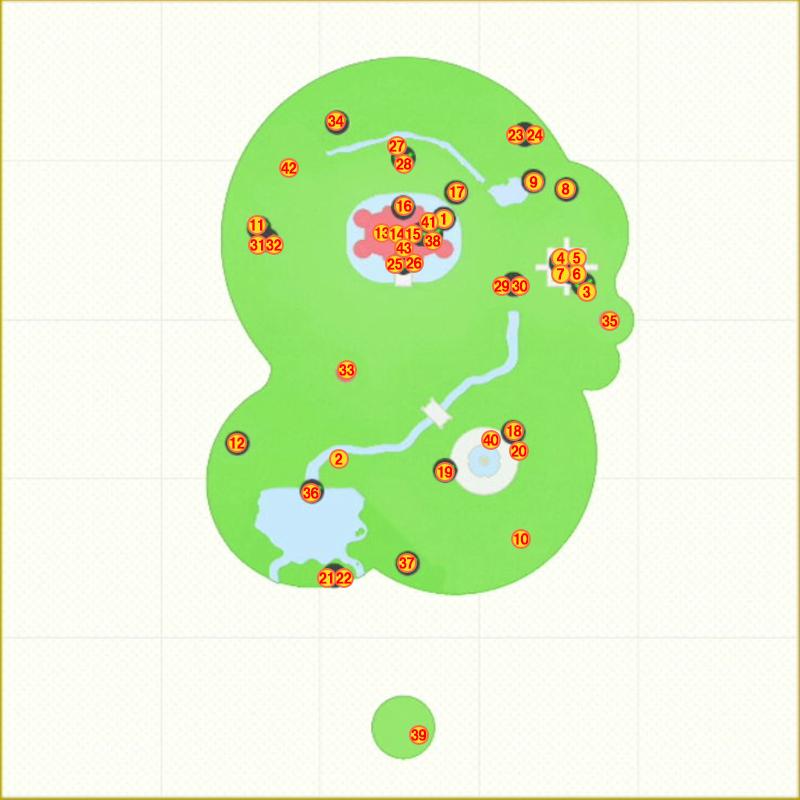 キノコ王国パワームーンマップ