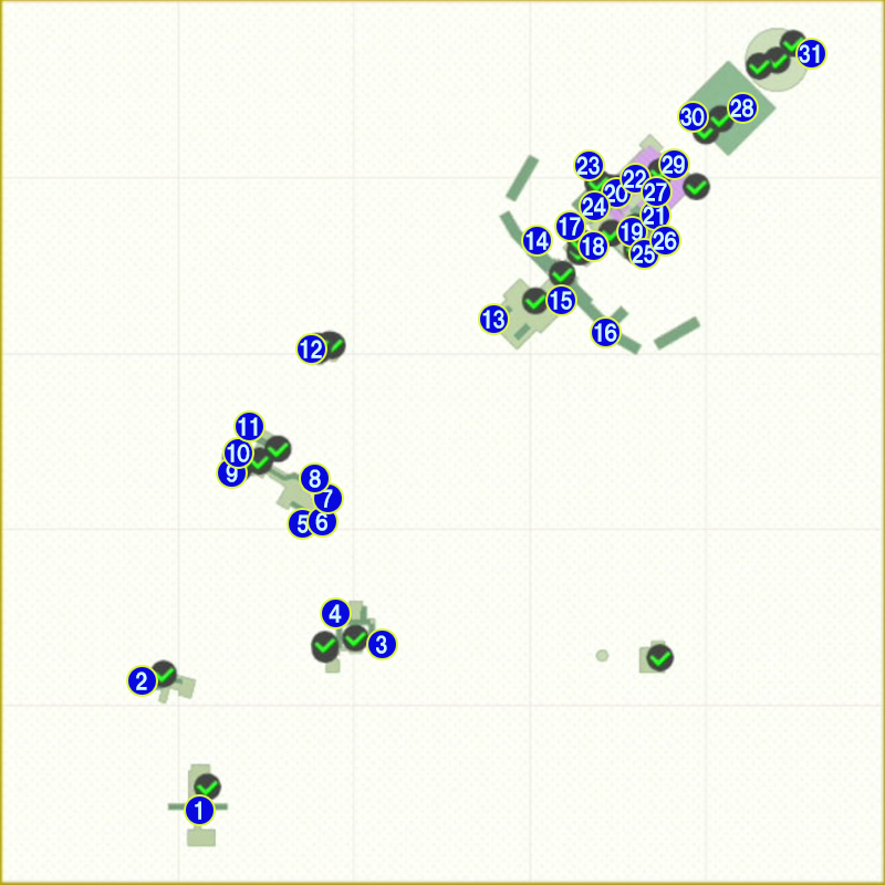 クッパ城ローカルコインマップ