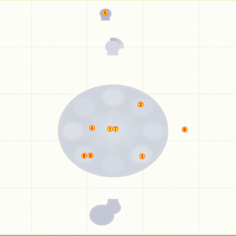 グランドモックパワームーンマップ